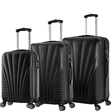d06a7be93 Image Unavailable. Image not available for. Color: InUSA Luggage Chicago  Lightweight Hardside Spinner ...