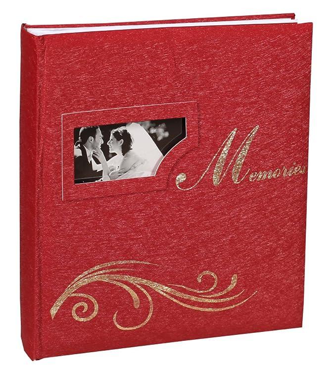 Wedding Flowers Fotoalbum in 29x32 cm 60 Seiten Hochzeit Foto Album