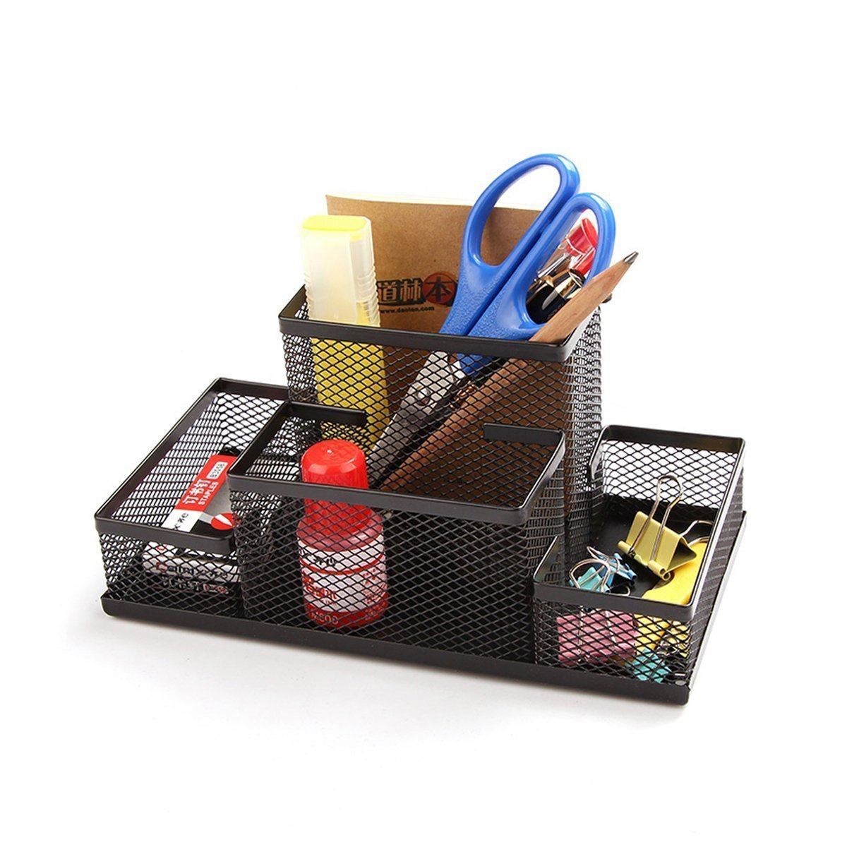 Pen and stationary organizer