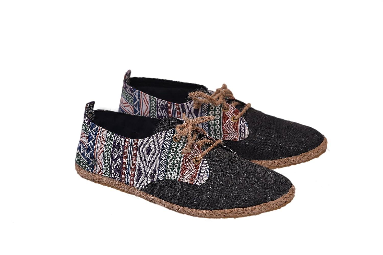 Cáñamo Cordones Con Virblatt Cordones Cáñamo Alpargatas Negro De Zapatos Veganos 6ba436