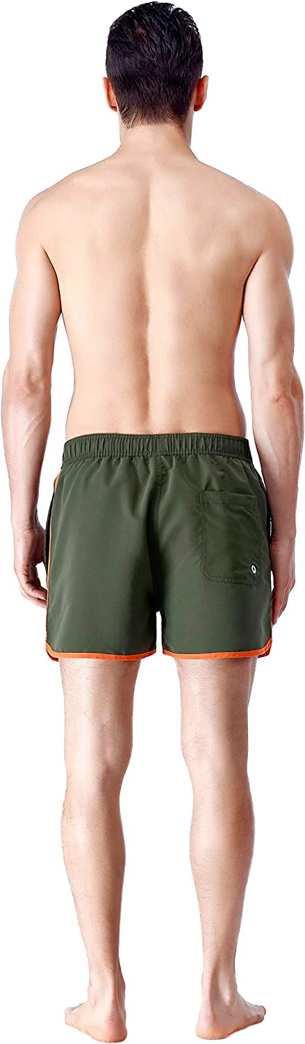 Mens Dear Math Shorts Lightweight Swim Trunks Beach Shorts,Boardshort