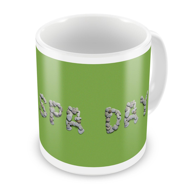 Coffee Mug Spa Day Spa Stones Rocks - NEONBLOND