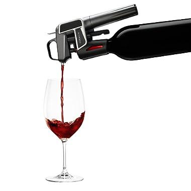 Coravin 100010 Model Two Wine Preservation System, 8.25  H x 5.5  W x 2.5  L, Graphite