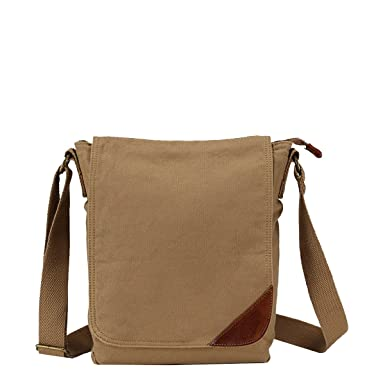 28f6af8939 Yy.f Retro Canvas Bag Shoulder Messenger Bag Male Postman Bag Casual Bag  Sports Bag Tide Package Male Bag Solid Color Bag