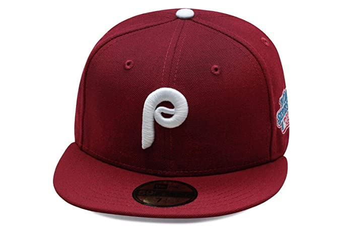 70606ee08454bd New Era 59fifty Philadelphia Phillies Fitted Hat Cap 1980 World Series Side  Patch MLB (7