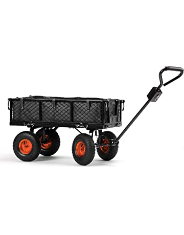 f1bf1ae04 VonHaus Garden Trolley Cart - 350kg Load Capacity Heavy Duty