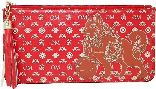 Red Feng Shui Wealth Wallet New W3770