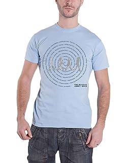 b7138733899f75 Musik-Fanbekleidung The Beatles T Shirt Abbey Road 8 Track Nue offiziell  Herren