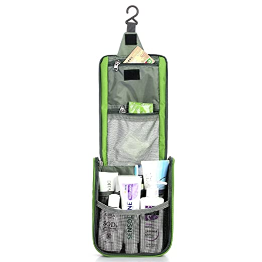 LEATHARIO Travel Toiletry Bag Outdoor Sports Pack Wash Gargle Bag