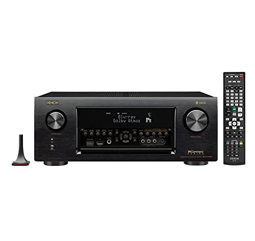 Denon AVRX4400H 9.2 Channel Full 4K Ultra HD Network AV Receiver