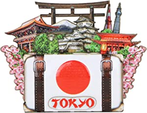 3D Tokyo Magnet Souvenir