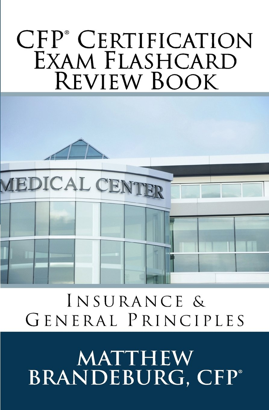 Cfp Certification Exam Flashcard Review Book Insurance General