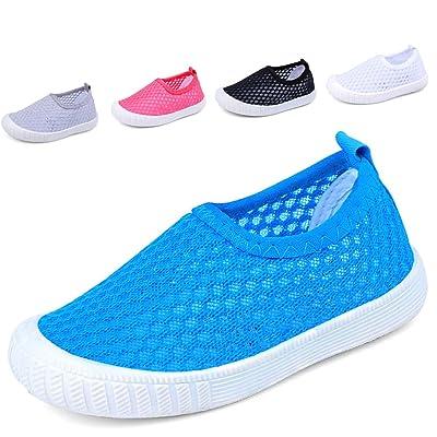 Eclimb Kids Breathable Slip-on Sneakers For Running Pool Beach Toddler / Little Kid / Big Kid