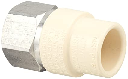 Spears cpvc female sprinkler head adapter socket brass