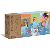 Clementoni - 16230TR - Play For Future - Sequence Puzzle - Günlük Rutinler, eğitici oyuncak