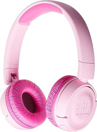 Amazon Com Jbl Jr 300bt On Ear Wireless Headphones For Kids Pink Electronics