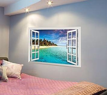 TERMV 3D Dreidimensionale Wand Aufkleber Kreative Wandgestaltung ...