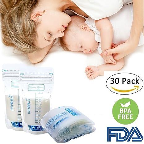 30 bolsas de almacenamiento para leche materna sin BPA ...