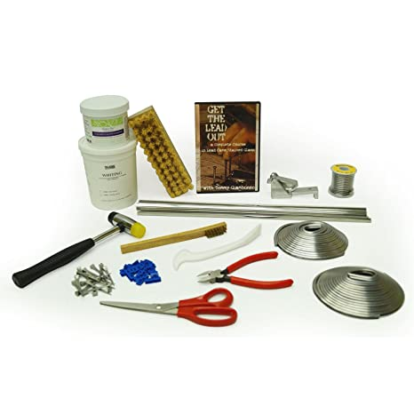 Stained Glass Tool Kit.Amazon Com Delphi Glass Ultimate Lead Upgrade Tool Kit