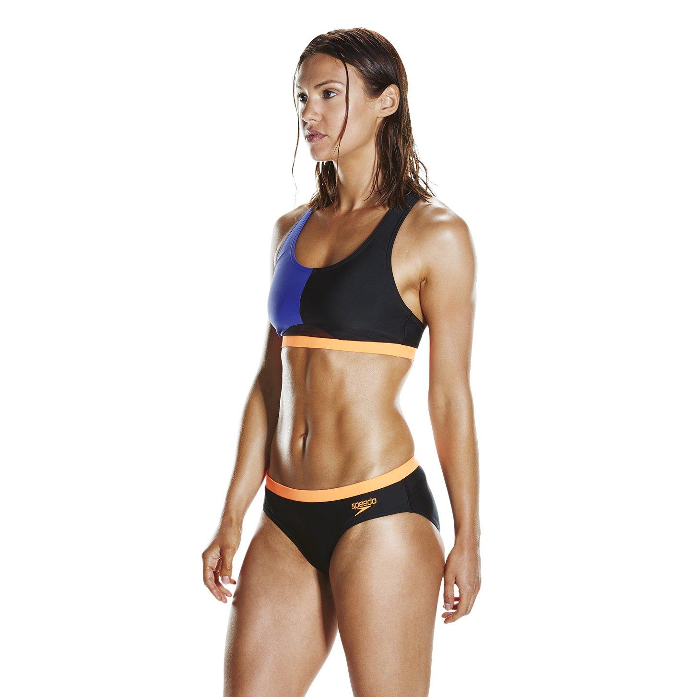 f7cbbd3bcbe Speedo Women's Hydractive 2 Piece Swimsuit (Pack of 2): Amazon.co.uk:  Sports & Outdoors