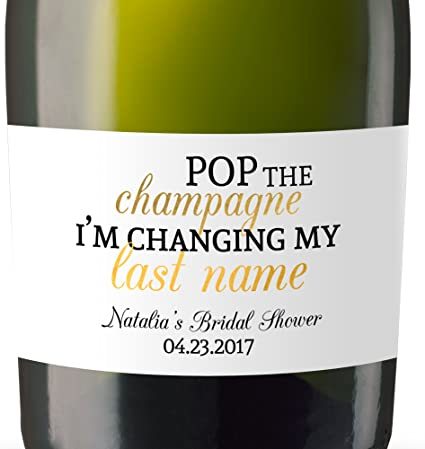 Sip Me Baby One More Time Housewarming Dinner Girlfriends Party 3-pack Modern Stylish Champagne Bottle Gift Tag BFF Funny Hostess