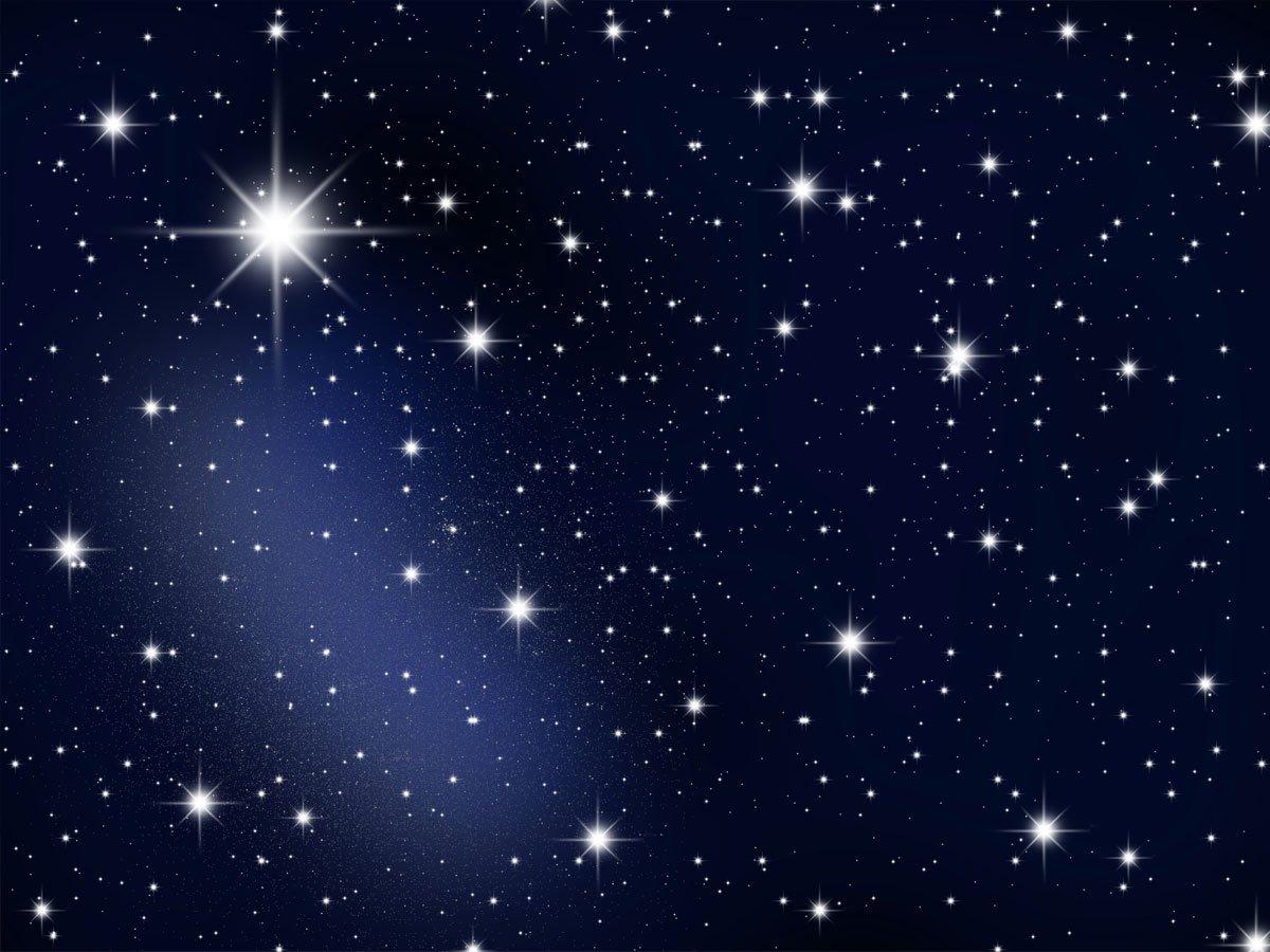 Fototapete sternenhimmel  wandmotiv24 Fototapete Sternenhimmel KT19 Größe: 350x260cm Tapete ...