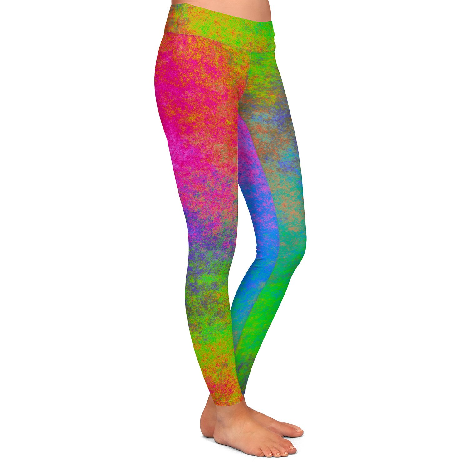 Athletic Yoga Leggings from DiaNoche Designs by Christy Leigh Happiness