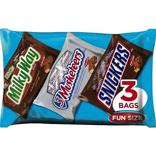 MARS Chocolate Halloween Classic Fun Size Chocolate Variety, 31.72 Ounce