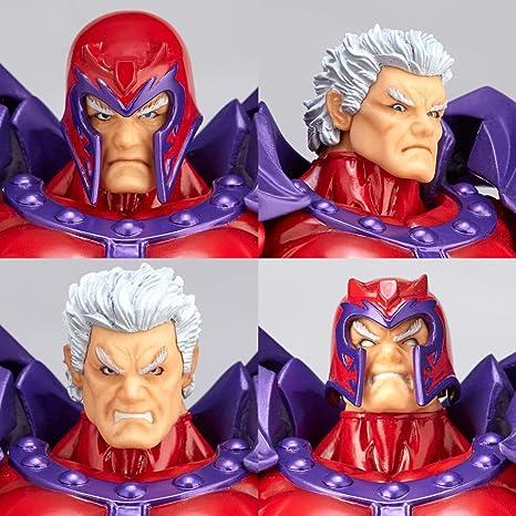 Kaiyodo Revoltech Amazing Yamaguchi Magneto Action Figure X-Men Toy No Box