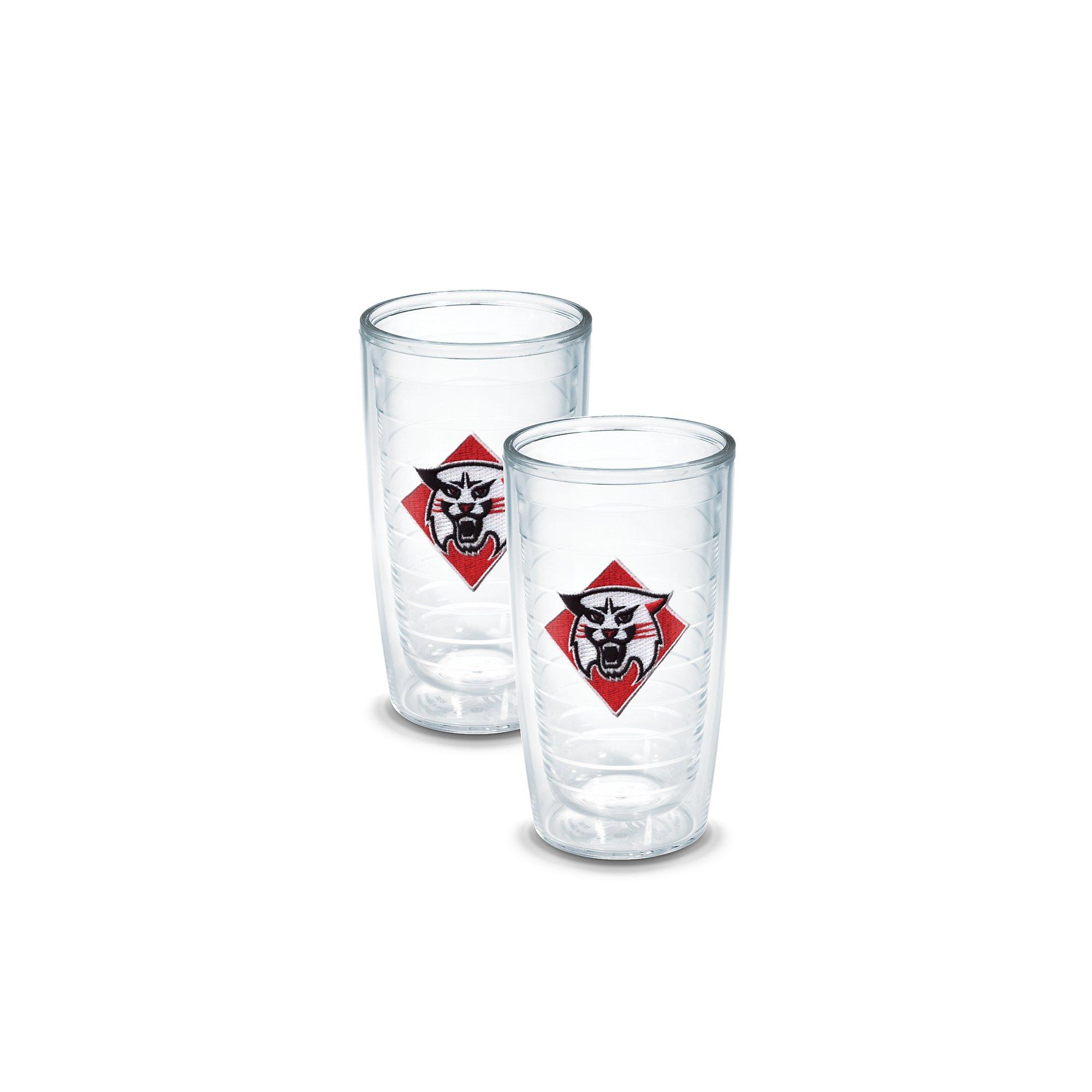 Tervis 1049911 Davidson College Emblem Tumbler, Set of 2, 16 oz, Clear