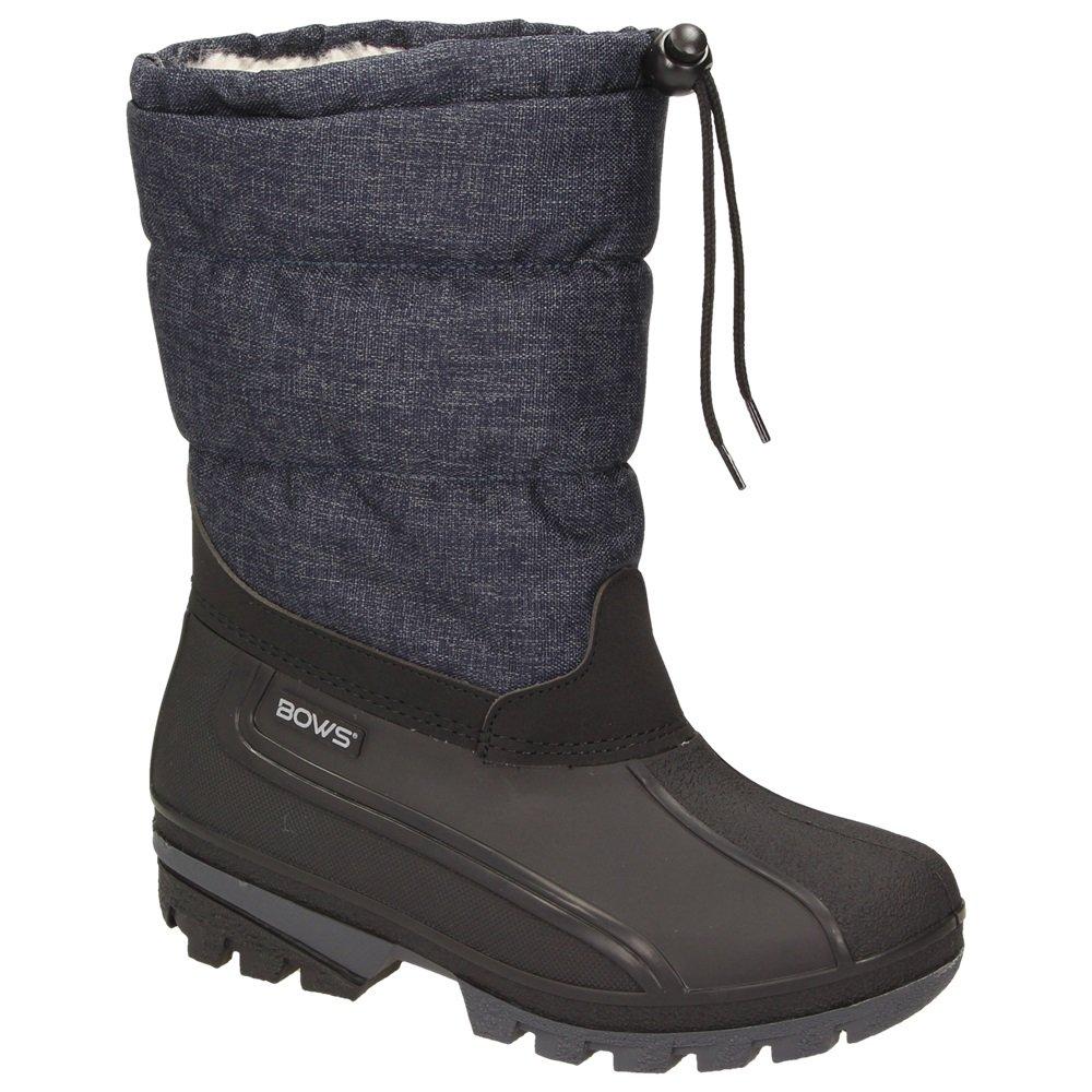 BOWSLiv - botas de nieve Mujer32 EU|azul vaquero