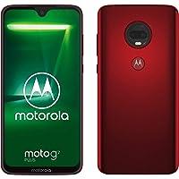 moto g7 plus Dual-SIM Smartphone (6,2 Zoll Display, 16-MP-Dual-Kamera, 64GB/4GB, Android 9.0) Viva Red