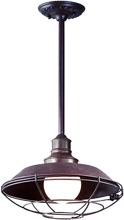 Troy Lighting F9273OR Circa 1910 Dark Sky Outdoor Ceiling Light 100 Total Watts  sc 1 st  Amazon.com & Amazon.com : Troy Lighting F9273OR Circa 1910 Dark Sky Outdoor ...