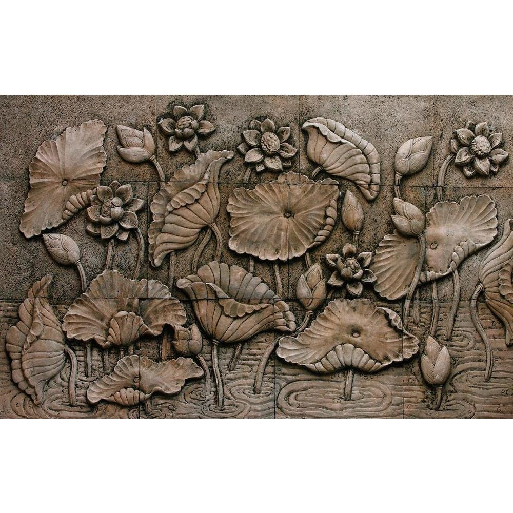 Pitaara Box Thai Style Buddhism Unframed Canvas Painting 33 x 20.8inch