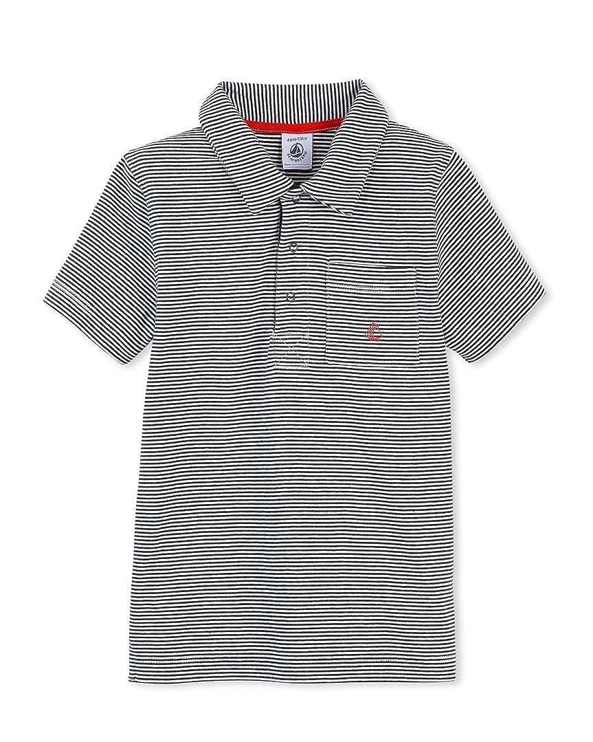 c0d4355d52 Amazon.com: Petit Bateau Boys Striped Polo: Clothing