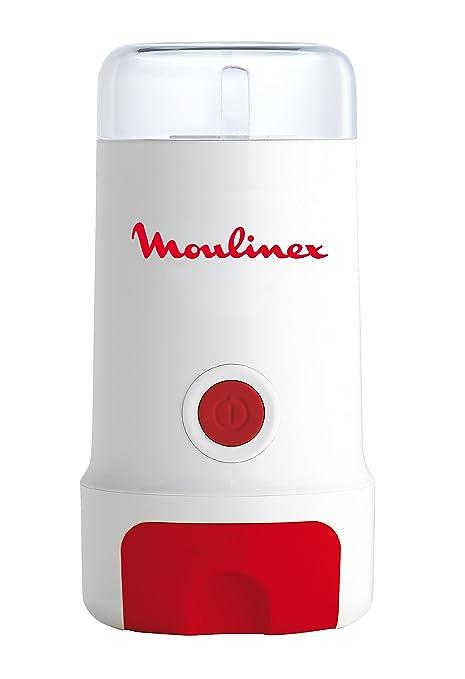 Moulinex Grinder MC3001 - Molinillo de café de 180 W con capacidad de 80 gramos y diseño compacto apto para café, especias, semillas o granos, ...