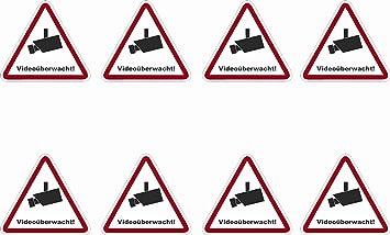 8 pegatinas autoadhesivas PVC suelo mojado 52 x 47 mm ...