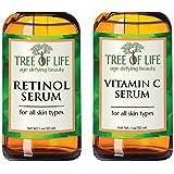 【日本初上陸】トゥリー オブ ライフビューティー《海外コスメ 正規品》「セラム 2パック」Retinol Serum&Vitamin C Serum 「Serum 2-Pack A」 [美容液]