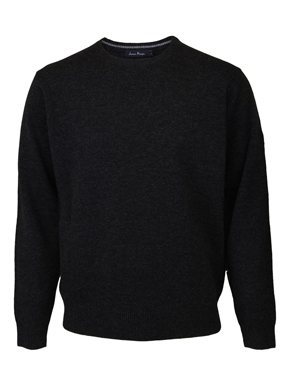 James Pringle Crew Neck Jumper [2075893GY3M] Dark Grey- Size M