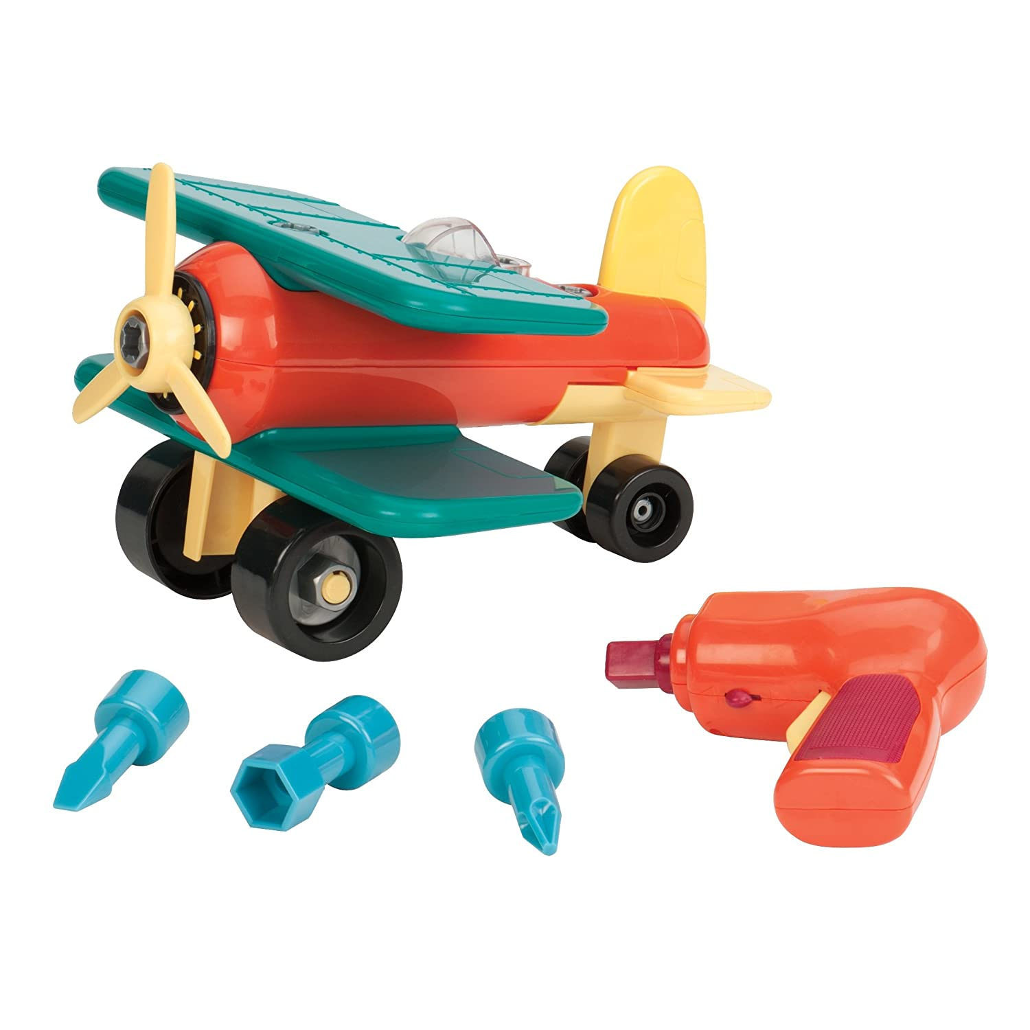 Battat Take Apart Airplane Construction Toy Vehicle Borgfeldt BT2457DTZ