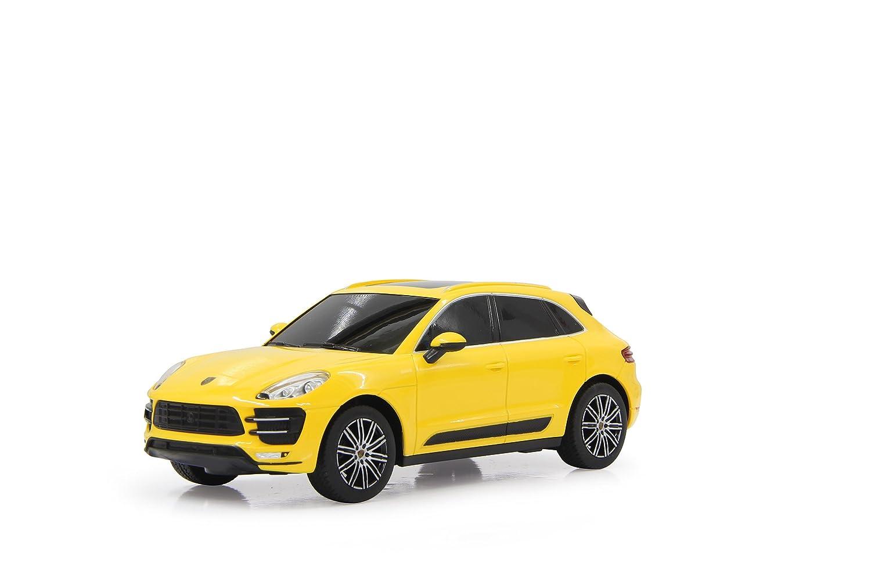 Jamara 405019 - Porsche Macan Turbo 1 24, Gialla, 27 MHz
