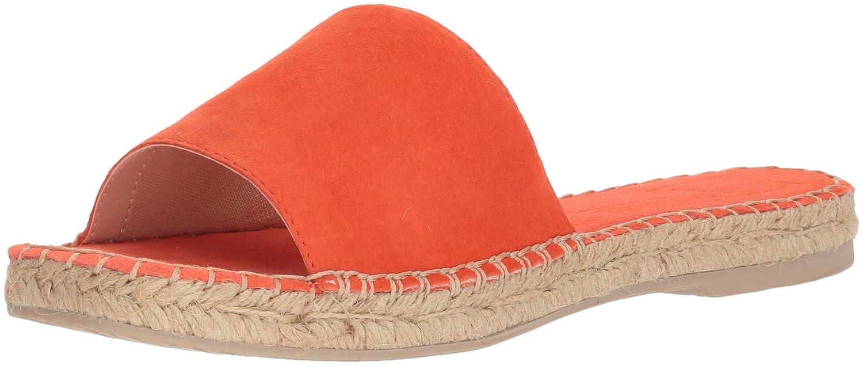 Dolce Vita Women's Bobbi Slide Sandal B077QK9SG5 10 B(M) US|Orange Suede