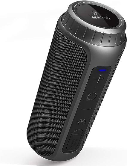 TWS Waterproof Magnetic Suction Bluetooth Outdoor Speaker Wireless Super Bass
