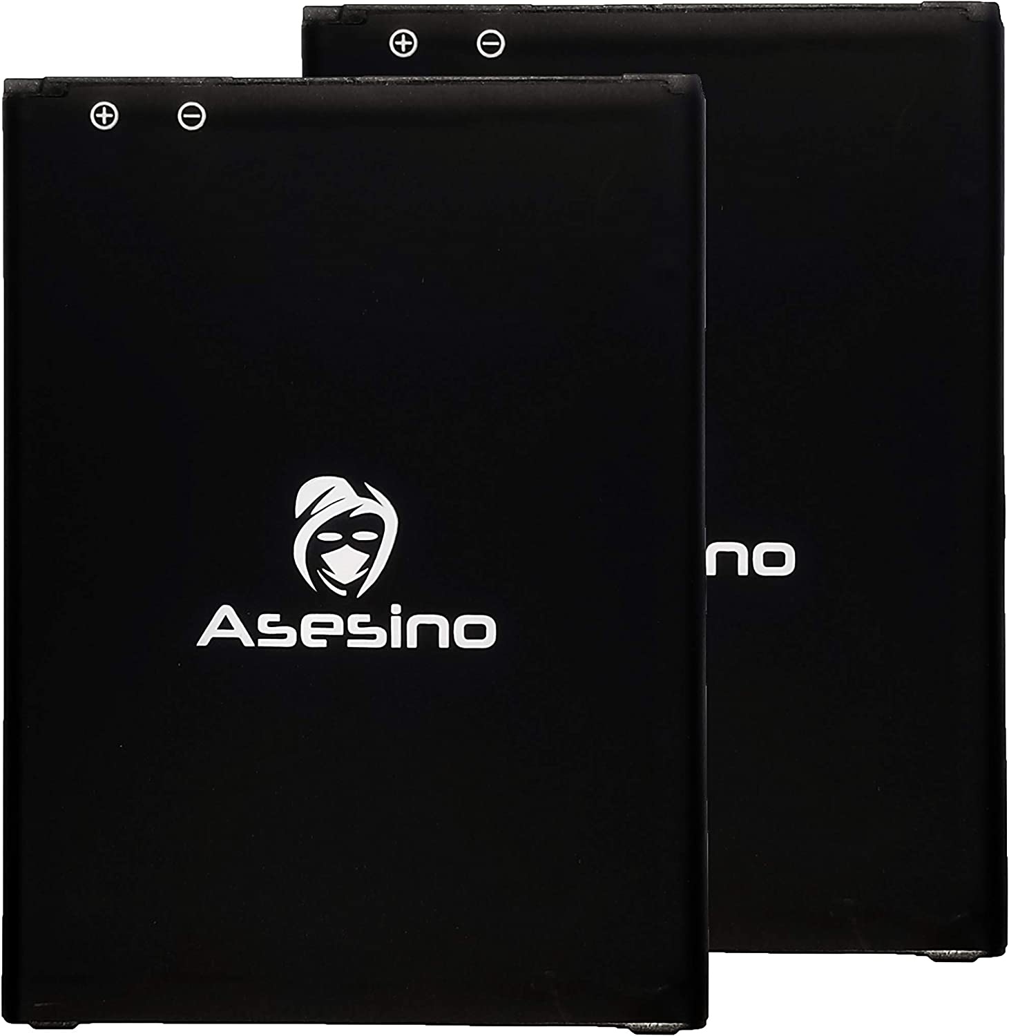 12-Month Warranty Asesino Batteries Compatible with LG V20 BL44E1F 3200mAh Replacement//Spare 2 Pack