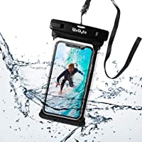 BixByte Waterproof Phone Pouch, Floating phone Case Dry Bag. Compatible with all Smartphones: iPhone 11/11 Pro, iPhone X…