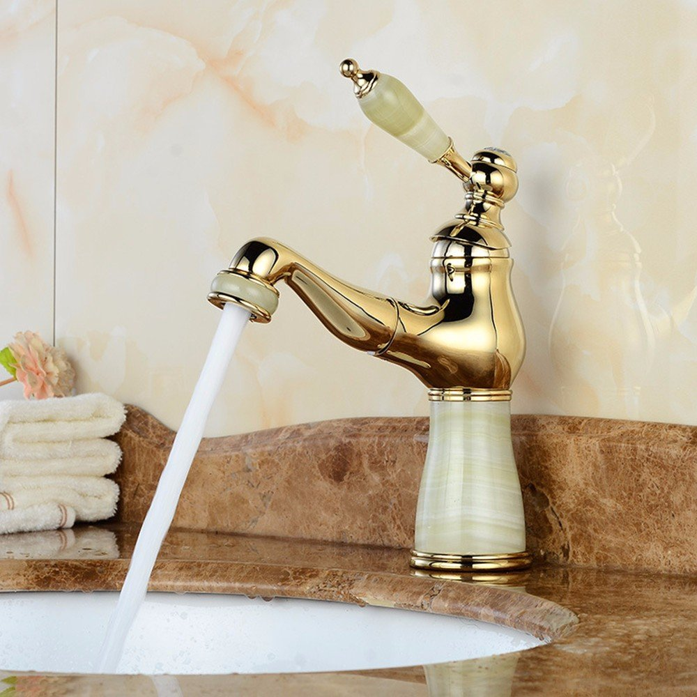 XY&XH Classic all copper kitchen and bathroom hardware lift single combined type water tap