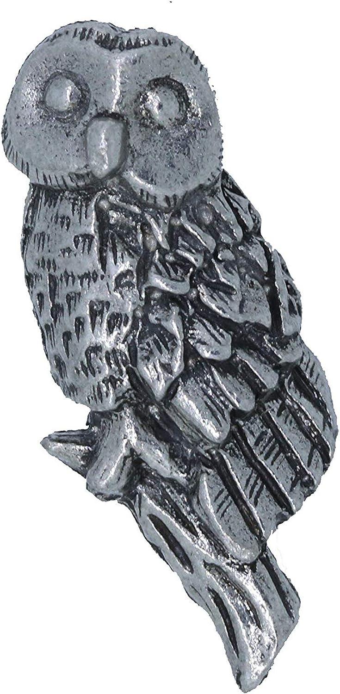 Owl Lapel Pin