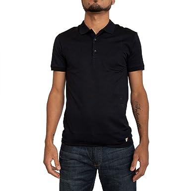 Polo shirt VERSACE COLLECTION men V800543 VJ00346V4013 black - XXL ... 6884b4cb20cd