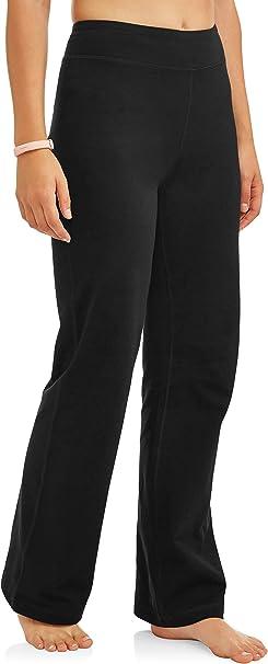 Amazon.com: Athletic Works Pantalones de yoga para mujer ...