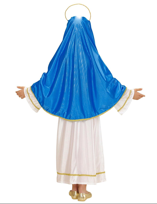 WIDMANN Disfraz de la Virgen María para niña: Amazon.es: Juguetes ...